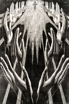 Gertraud Reinberger-Brausewetter - Die Hände der Heiligen, 1928