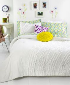 Teen Vogue Ella Ruffle Comforter Set