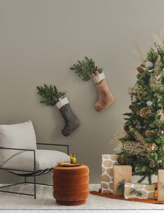 How to make orange and gold Christmas decorations look chic, not kitsch How To Make Orange, Very Merry Christmas, Xmas, Beautiful Christmas Decorations, Christmas Fashion, Look Chic, Tree Decorations, Kitsch, House Inside