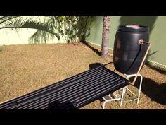 PVC PASSO A PASSO: Aquecedor solar caseiro com tubos de PVC