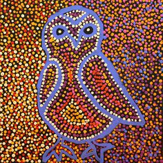 Product shot of Owlet Nightjar Dreaming - © Pamela Walker Napurrula