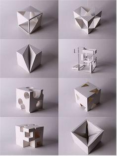 - About Design Folding Architecture, Concept Models Architecture, Architecture Model Making, Architecture Design, Graphisches Design, Cube Design, Interior Design, Geometric Sculpture, Geometric Shapes