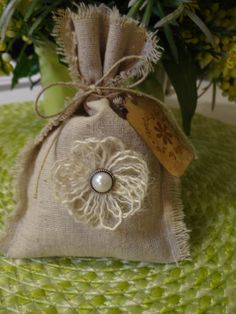 Favor Bags Bridal Shower Wedding Bridesmaid Vintage Chic Country Wedding Handmade Favor Bags Love these, great website Wedding Shower Favors, Bridal Shower, Burlap Favor Bags, Wedding Bridesmaids, Decoration, Dream Wedding, Wedding Ideas, Diy Wedding, Wedding Decor