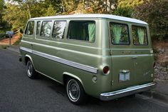 1960s Ford Falcon Econoline van. Another of my dream cars. Perhaps some day...