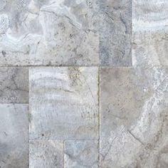 travertine ancient tumble silver - Google Search