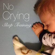 "What the ""No Crying"" Sleep Training Method really looks like and how it worked."