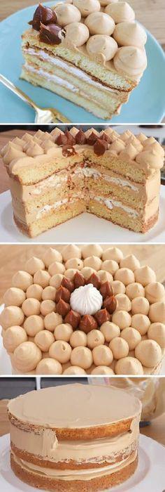 Me quedo hipnotizada con la torta o PASTEL TRES LECHES mas rica que jamas probarás!! #pasteltresleches #pastel3leches #tortatresleches #merengue #dulcedeleche #mousse #cremas #rellenos #cakes #pan #panfrances #panettone #panes #pantone #pan #recetas #recipe #casero #torta #tartas #pastel #nestlecocina #bizcocho #bizcochuelo #tasty #cocina #chocolate Si te gusta dinos HOLA y dale a Me Gusta MIREN... Poke Cakes, Cupcake Cakes, Cake Recipes, Dessert Recipes, Gingerbread Cake, Fudge Cake, My Dessert, Sweet Cakes, How Sweet Eats