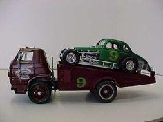 Ford Race Hauler Ned Jarrett Race Car Plastic Fanatic