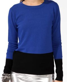 Colorblocked sweater - $19.80