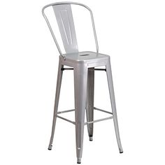 Completely transform your living or restaurant #space with this vintage style barstool. Adding colorful chairs can rev up any setting. The versatility of this ch...