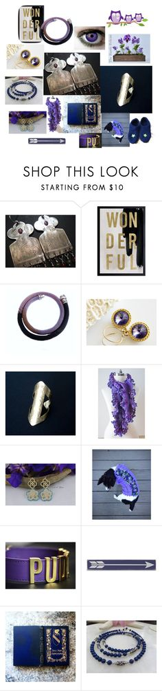 """""""Wonderful Finds"""" by anna-recycle ❤ liked on Polyvore featuring Oliver Gal Artist Co., Umbra, Corgi, Home Decorators Collection, Lazuli, modern, rustic and vintage"""