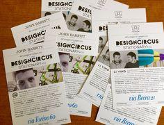 Al via DesignCircus Stationary! Dal 15 maggio al 15 giugno, lo showroom FixDesign di via Brera 21 e John Barritt di via Torino 60, ospiteranno in anteprima due designer selezionati per Design for Food: Andrea Rizzi, con il suo brand Tela, e lo studio pugliese Li ving. Venite a scoprirli!