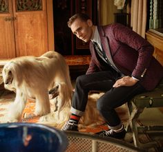 Tom Hiddleston lands his first major fashion campaign