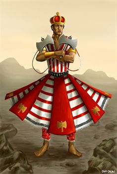 Shango - warrior deity ; divinity of thunder, fire, sky father, represents male power and sexuality.