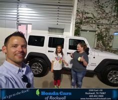 Honda Cars of Rockwall Customer Review  Thank you for your purchase of your awesome new 2012 Jeep Wrangler Unlimited  Kristy, https://deliverymaxx.com/DealerReviews.aspx?DealerCode=VSDF&ReviewId=57407  #Review #DeliveryMAXX #HondaCarsofRockwall