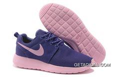 b9f296138d5d5 Nike Roshe Run Women Purple Pink TopDeals 781457