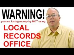 "Why ""Local Records Office"" Will Make You Question EVERYTHING !!"