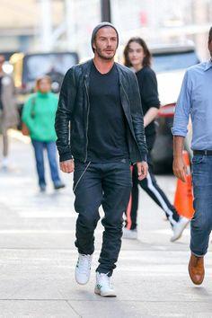 David Beckham looking so #swavy!