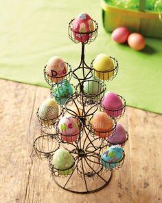 wire egg holder