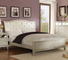 Amari Panel Bed