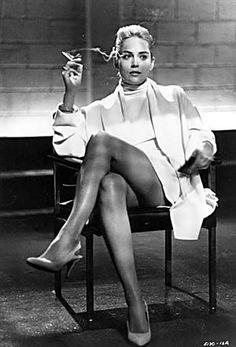 Sharon Stone in Basic Instinct~~~ I think she is beautiful~