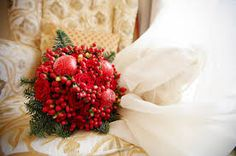 свадебный букет из бордовых роз - Поиск в Google
