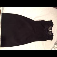 Little black dress Worn a handful of times. No signs of Usage. Size small. Forever21 Forever 21 Dresses