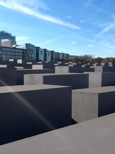 Holocaust memorial in Berlin, not what you would expect