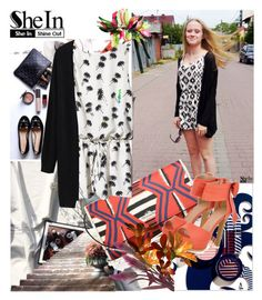 """""""Shein cardigan"""" by irinavsl ❤ liked on Polyvore featuring Coach, JY Shoes and Marni"""