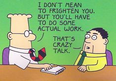 Gotta love the Dilbert. If only my tie could do that...