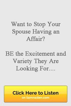 Getting over having an affair