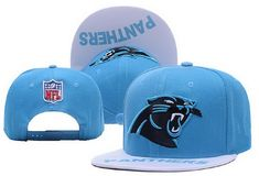 NFL Mens Carolina Panthers Flatbrim Cap
