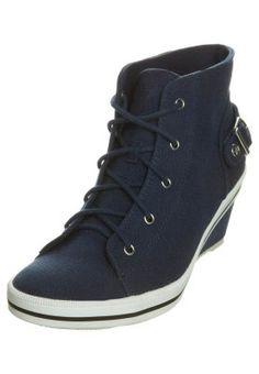 Sneakers alte - navy