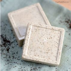 This homemade soap recipe is easy to make and would make a great gift for a person who loves coffee.