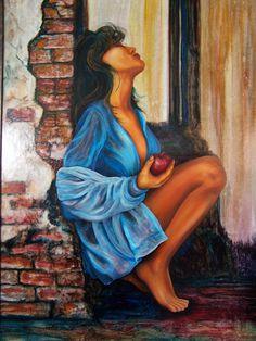 """""""Eve-Alluring"""" fine art giclee reproduction"""
