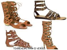 O estilo gladiador é a tendência forte para esse verão. Veja mais em simplesmentebarbara.com.br