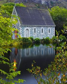 this looks like the most peaceful church