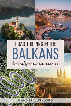 Use these detailed travel itineraries to plan a road trip in the Balkans Balkans travel Balkans road trip Balkans itinerary Road Trip Europe, Road Trip Destinations, Europe Travel Guide, Greece Destinations, Travel Info, Traveling Tips, Florida Travel, Vacation Travel, India Travel