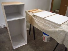 Built-In Storage Between the Studs – Home Staging In Bloomington Illinois Built In Wall Shelves, Built In Storage, Wall Shelving, Diy Storage Projects, Home Projects, Bathroom Storage, Small Bathroom, Master Bathroom, Bathroom Ideas