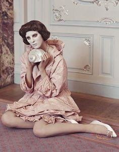 Giedre Kiaulenaite Is Lensed By Elena Rendina In 'Eyes Without A Face' — Anne of Carversville Fashion Photo, Fashion Art, Eyes Without A Face, South Of Heaven, Ladies Gents, Editorial Fashion, Religion, Retro, Lady