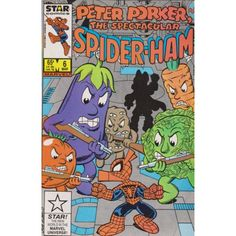 PETER PORKER, THE SPECTACULAR SPIDER-HAM (STAR) #6 | March 1986 | VOLUME 1 | MARVEL | $4.60