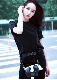 Cartoon Panda Women Crossbody Bags Leather Messenger Bag Large Capacity Handbag