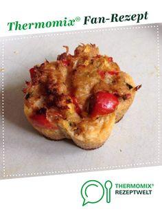 Saftige Thunfisch/Gemüse Muffin Low Carb von Ricky66. Ein Thermomix ® Rezept aus der Kategorie Hauptgerichte mit Fisch & Meeresfrüchten auf www.rezeptwelt.de, der Thermomix ® Community.