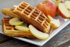 Recept: gezonde havermoutwafels met appel en kaneel