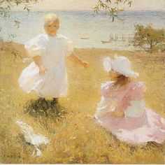 Benson, Frank W. (1862-1951) - The Sisters | Flickr - Photo Sharing!