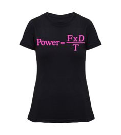 Women's über nerd tee Black/Pink (Form)