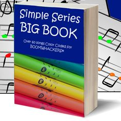 "Boomwhackers® Sheet Music ""BIG BOOK"" - (over 60 songs) - Boompak"