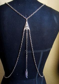 draped body chain which would look stunning with some of my backless dresses
