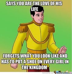 Cinderella Memes. Best Collection of Funny Cinderella Pictures
