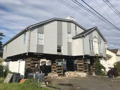 This is a home lifted in Union Beach NJ to make the home compliant with new town and FEMA guidelines. https://wabuildingmovers.com/ Subscribe to our YouTube channel! https://www.youtube.com/channel/UC0Xuk4pS_LdP2_7oH3UT4jQ #houseraising #houselifting #houselifters #houseelevating #homeraising #homelifting #homeelevating #floodmitigation #floodzones #floodinsurance #flooding #besthouselifters  #buildingmovers #FEMA #youtube #subscribers #videos #playlist #vimeo #newjersey #newyork…